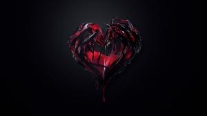 dark_red_heart_1920x1080